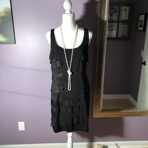 Nine West Mini tiered LBD in size 14
